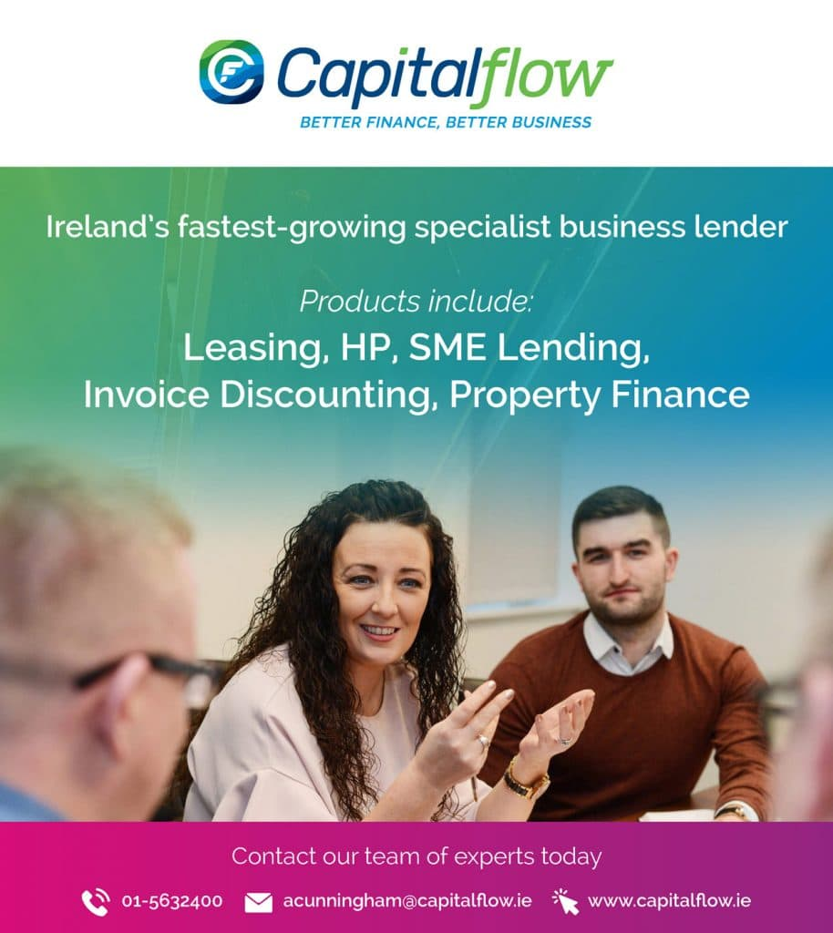 Capitalflow Business & Finance Ad