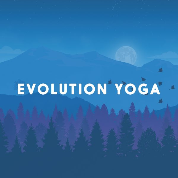 Evolution Yoga Poster