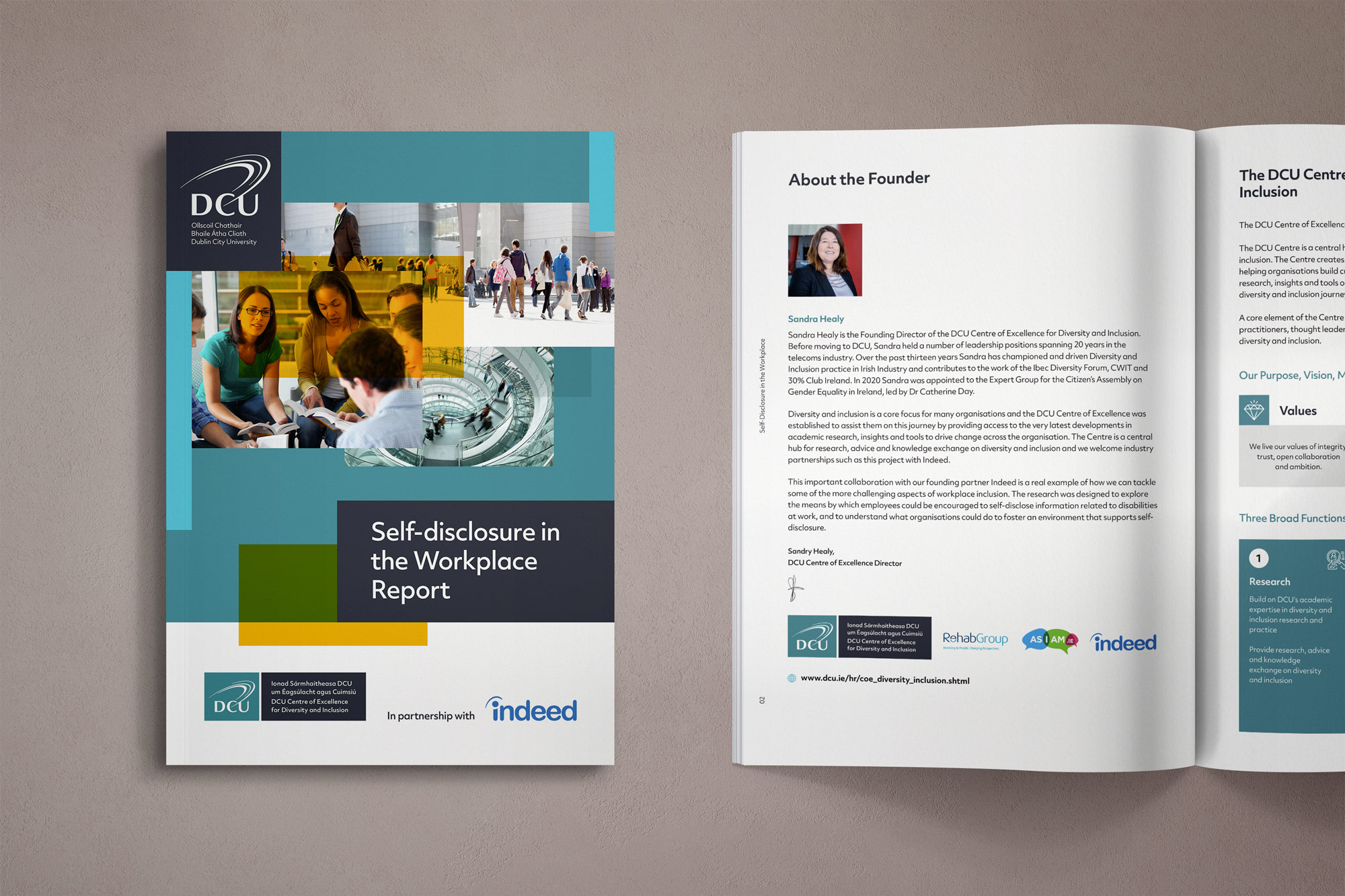 Centre of Excellence Report Mockup